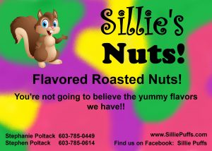sillie nuts frosted nuts